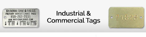 industrial and commercial tags
