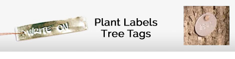 plant labels and tree tags