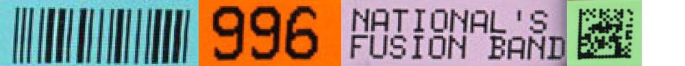 fusion barcodes characters