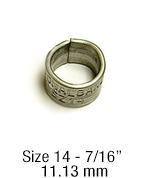 1242-14 bird band