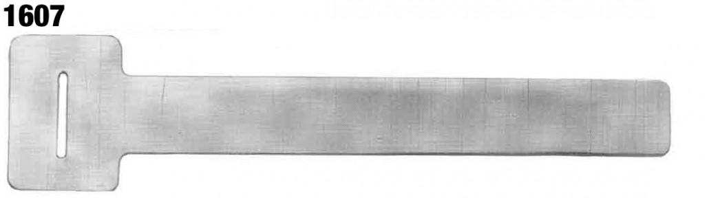 Aluminum Cable Ties (Slot & Tongue Tags) - National Band and Tag Company