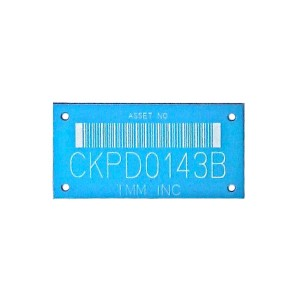 barcode asset tag