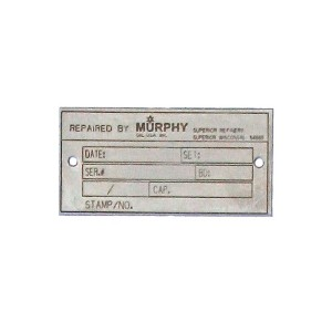 stainless steel asset tag