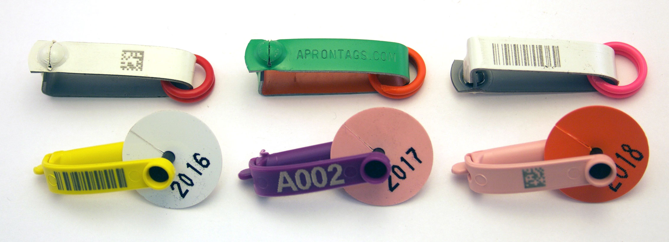 So long, Sharpie! - Lead Apron Tags - National Band & Tag Co