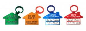 plumber tags