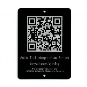 qr code educational tag