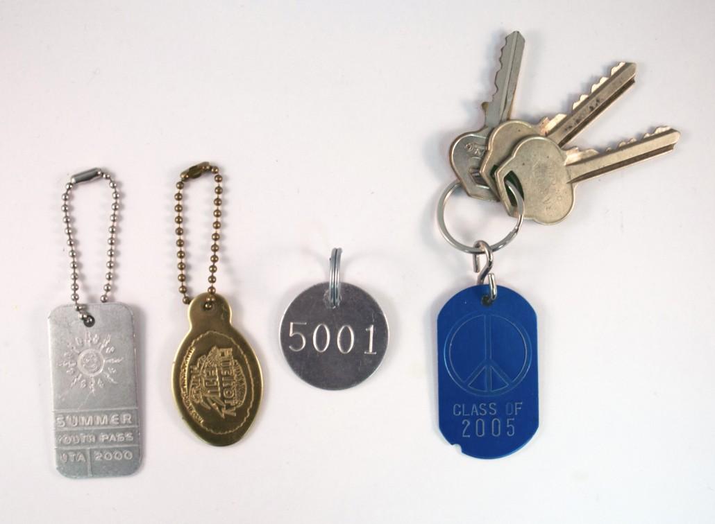 tag keychains