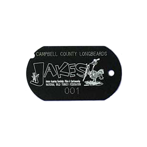 Uv Le Black Military Tag