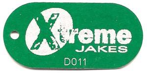 laser etched tag