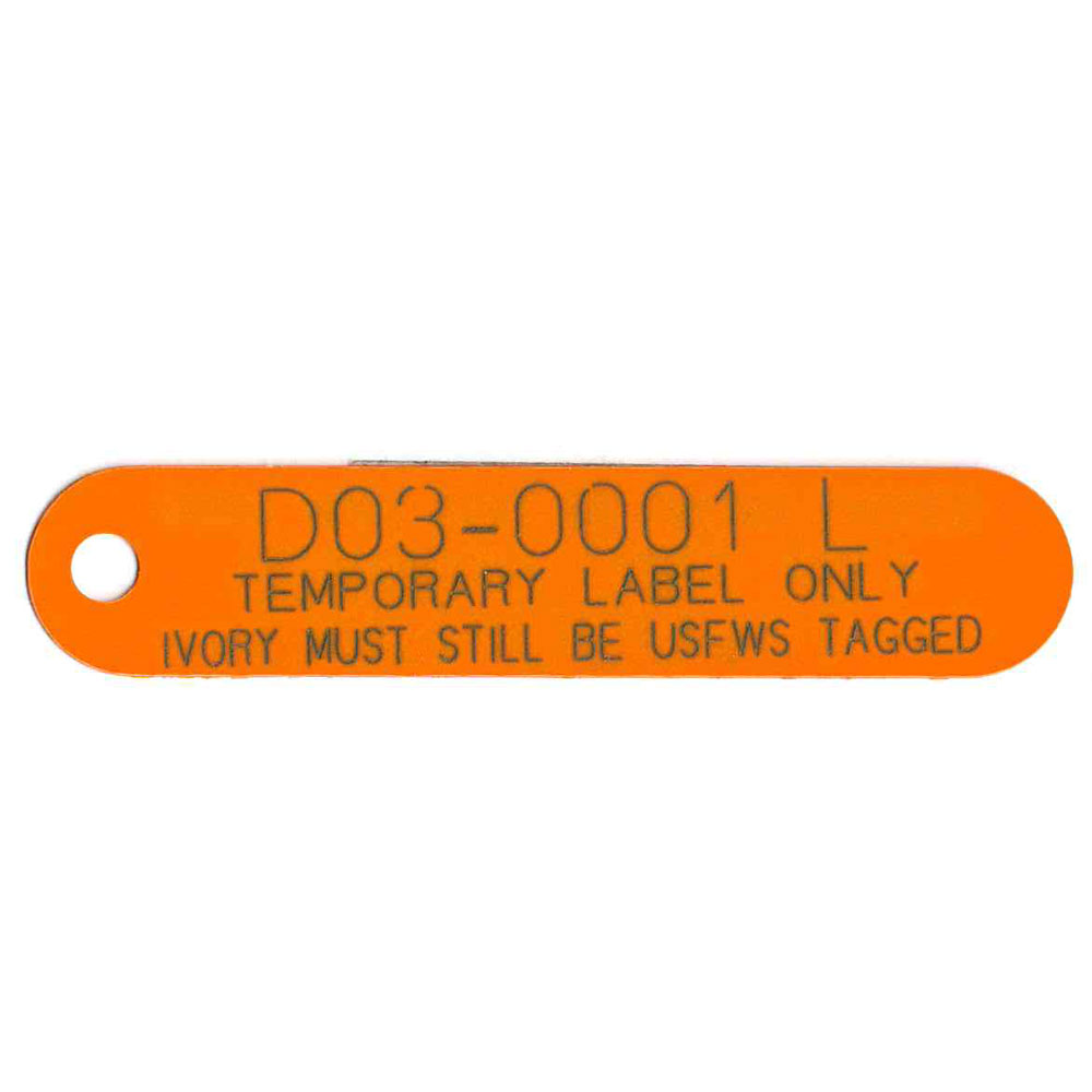 Plastic Laser Marked Tags - National Band and Tag Company