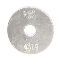 aluminum survey marker