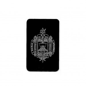 naval crest on tag