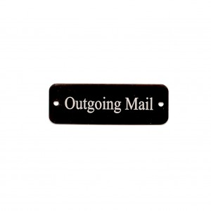 engraved tag