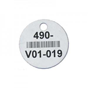 round valve tag
