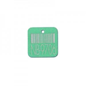 square valve tag