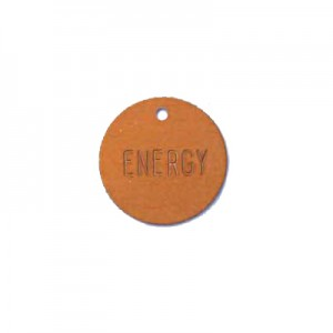 orange valve tag