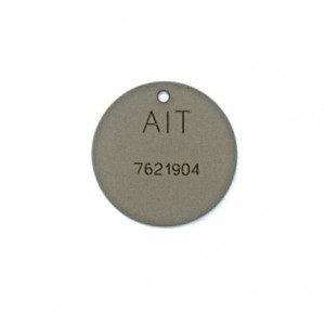 round well tag