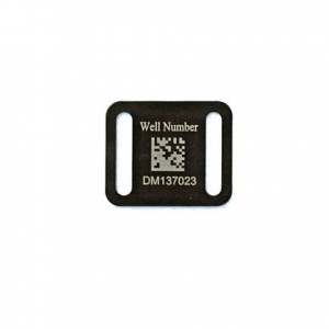 uv stable barcoded well tag