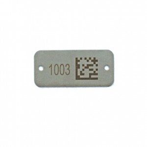 bar coded well id tag