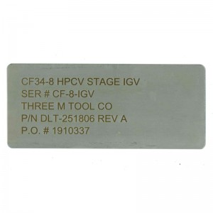 3 inch stainless steel tag