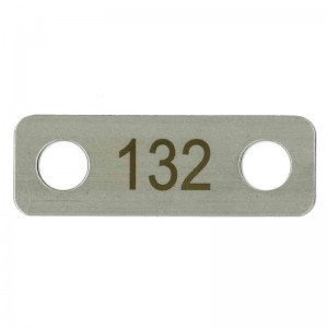 stainless asset tag