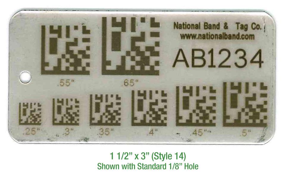 barcode density