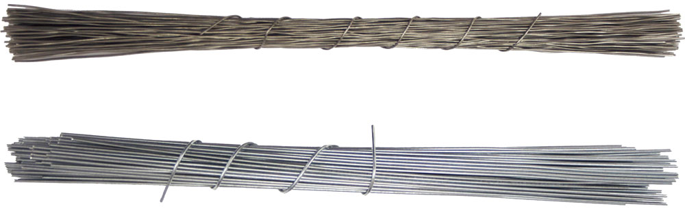 Stainless steel wire bundle and galvanized steel wire bundle