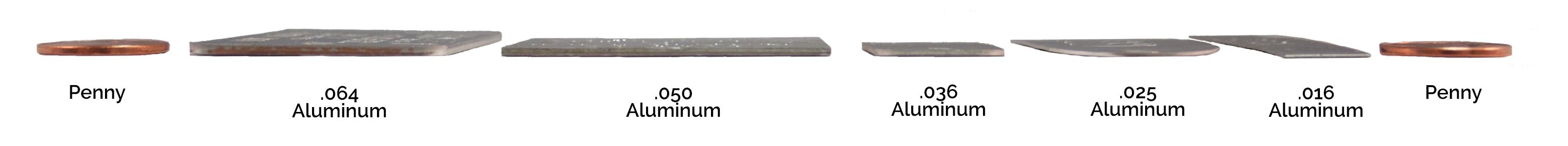 aluminum thickness