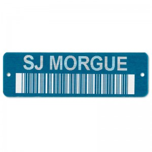 bar code on tag