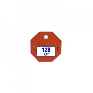 Octagon/Octagonal Tag Style 128