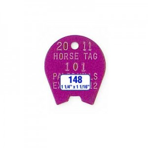 Horse Shoe Tag Style 148