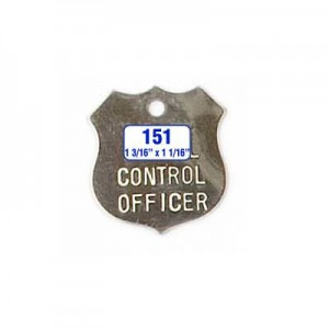 Officer Shield Tag Style 151