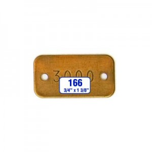 Rectangle/Rectangular Tag Style 166