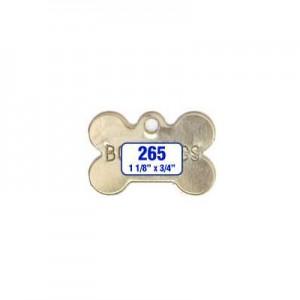 Dog Bone Tag Style 265