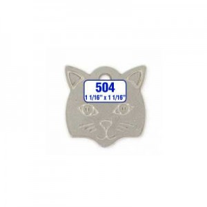 Cat Shaped Tag Style 504