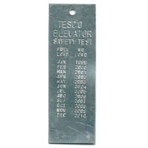 elevator tag