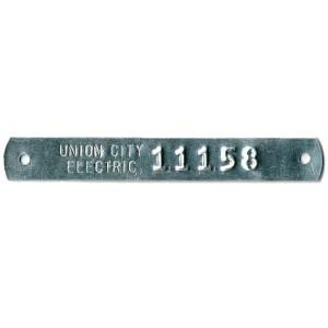 skinny gauge tag