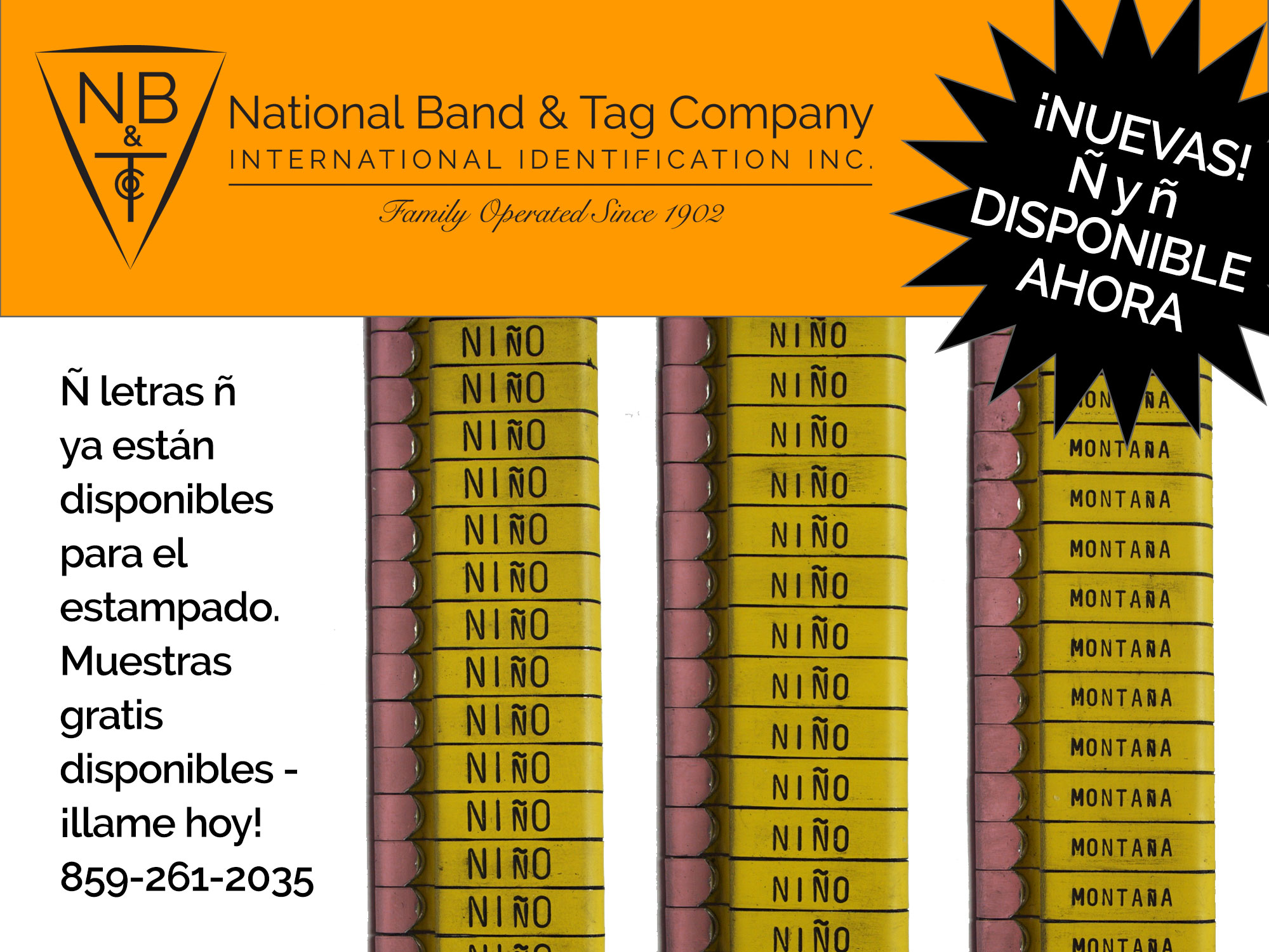Wing Band Bands - National Band and Tag Company