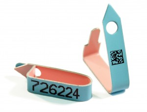 tab end wingbands barcoded