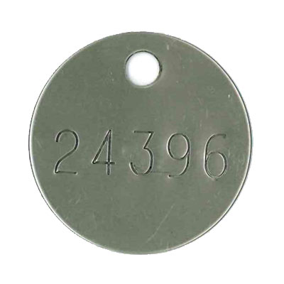 Crematory Tags - Cremation ID Tags - National Band and Tag
