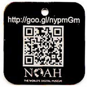 qr coded tag
