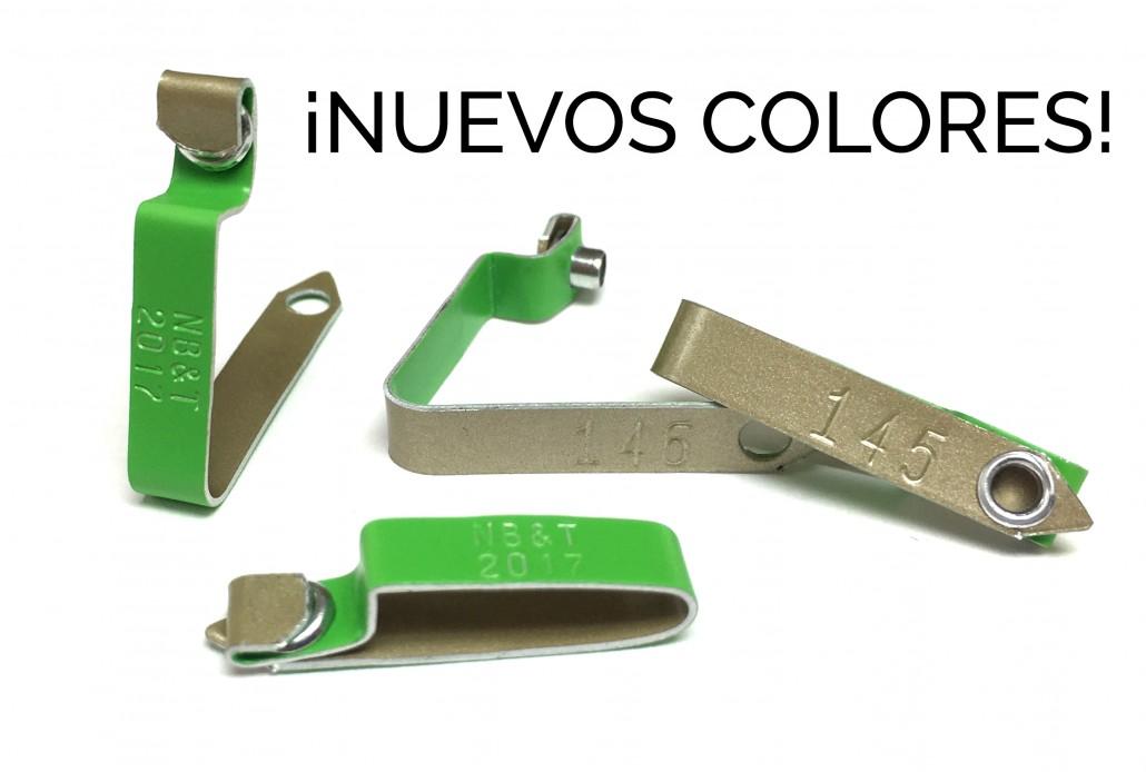 Verde Neon Placas de Gallos