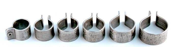 rivet bands no dims
