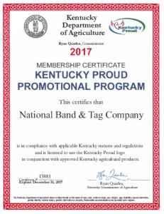 ky proud certificate
