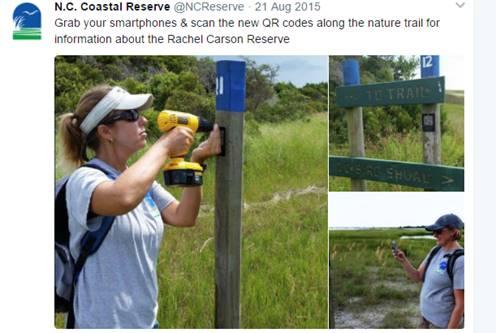 nature trail social media posts