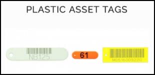 plastic asset tags