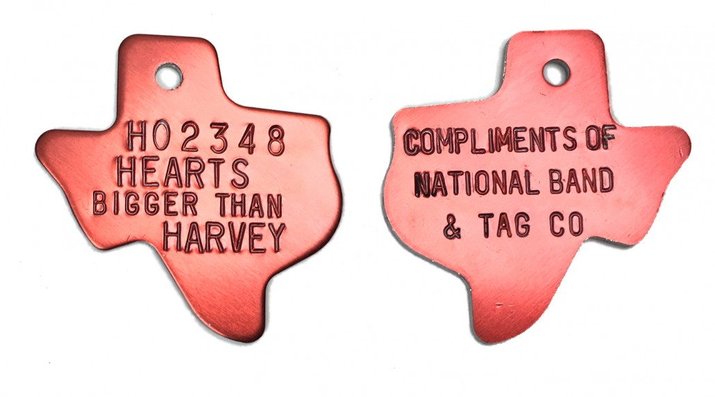 harvey tags front and back