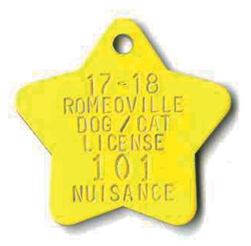 small star tag