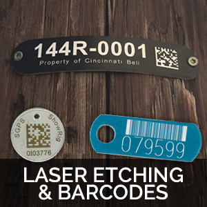 laser etched tags