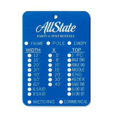Elevator Tags, Inspection Tags - National Band & Tag Co